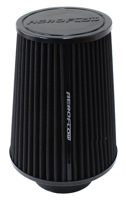 """Universal Tapered 3"""" (76mm) Clamp-On Filter 8 in (203 mm) H x 5 in (127 mm) Base OD x 4.625 in (117 mm)..."""