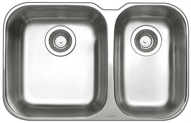 25L Main Bowl Capacity 18L Secondary Bowl Capacity Rear Positoined Waste Mounting sink clips Designer...