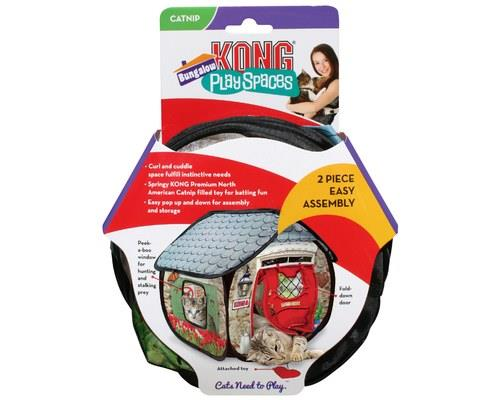 KONG PLAYSPACES BUNGALOWA tiny house just for your kitty, KONG PlaySpaces Bungalow is an...