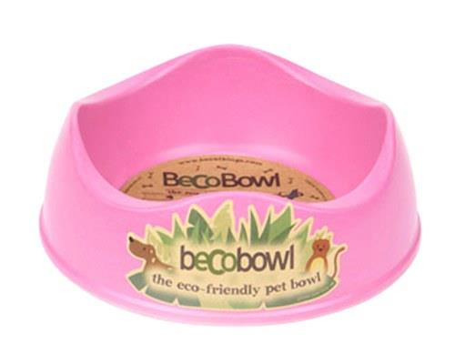 BECO PETS PINK DOG BOWL SMALLThe award-winning Beco Bowl is made from bamboo and rice husk. They are...