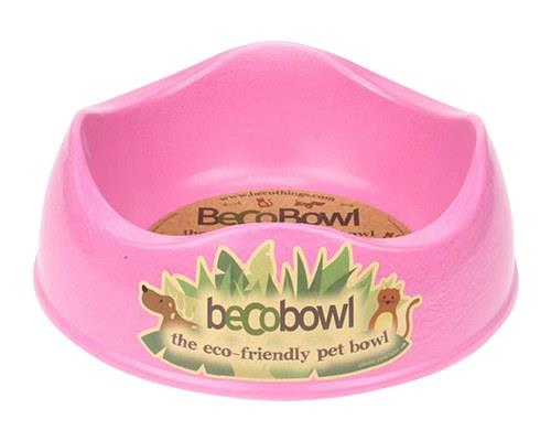 BECO PETS PINK DOG BOWL LARGEThe award-winning Beco Bowl is made from bamboo and rice husk. They are...
