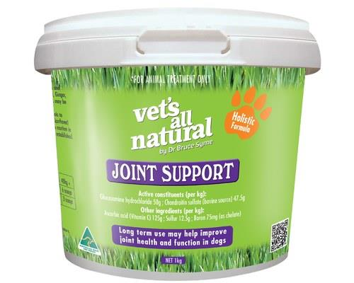 Vets All Natural Joint Support Powder, 1kgThis powdered supplement has been developed by Dr Bruce Syme...