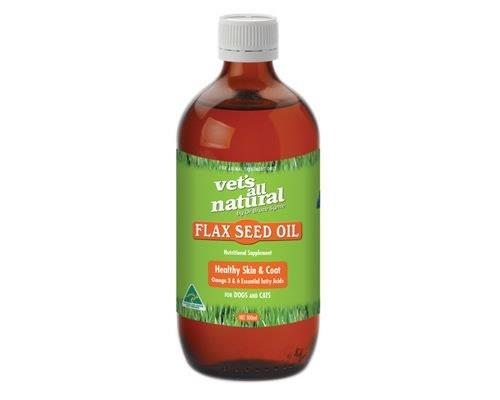 VETS ALL NATURAL FLAX SEED OIL 500MLFlax Seed Oil is a popular nutritional supplement for your...