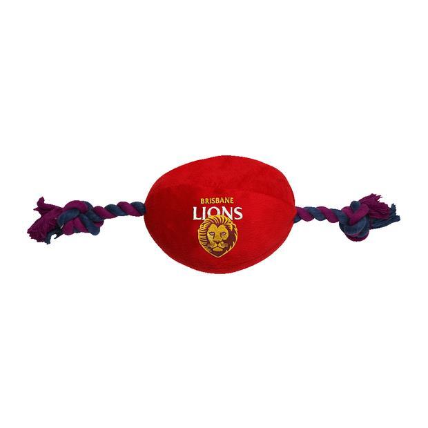 Afl Supporter Football Brisbane Lions Each Pet: Dog Category: Dog Supplies  Size: 0.8kg Colour: Multi...
