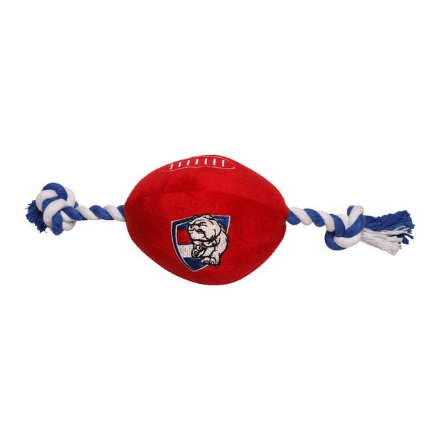 Afl Supporter Football Western Bulldogs Each Pet: Dog Category: Dog Supplies  Size: 0.8kg Colour: Multi...