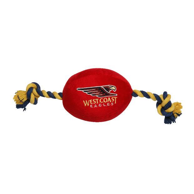 Afl Supporter Football West Coast Eagles Each Pet: Dog Category: Dog Supplies  Size: 0.8kg Colour:...