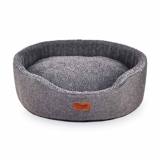 Freezack Bed Casadei Oval Grey Medium Pet: Dog Category: Dog Supplies  Size: 0.7kg Colour: Grey  Rich...