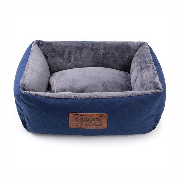 Freezack Bed Knight Blue Grey Medium Pet: Dog Category: Dog Supplies  Size: 1.6kg Colour: Blue  Rich...