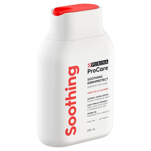 Procare Dermprotect Soothing Shampoo 500ml Pet: Dog Category: Dog Supplies  Size: 3.5kg  Rich...
