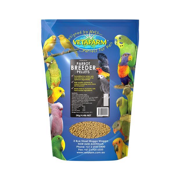 Vetafarm Parrot Breeder Pellets 2kg Pet: Bird Category: Bird Supplies  Size: 2kg  Rich Description:...