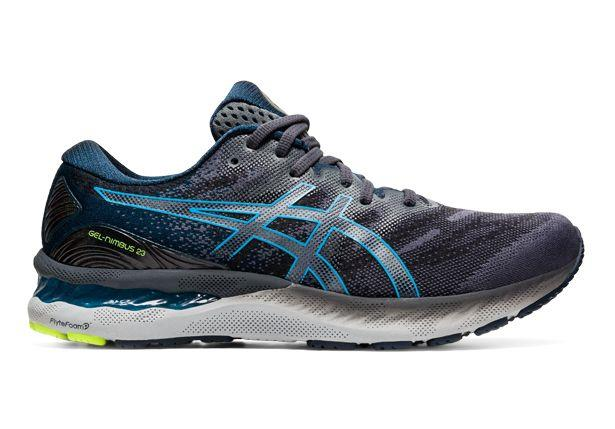 Experience a smoother ride, with exceptional stability and support in the ASICS Gel-Nimbus 23.