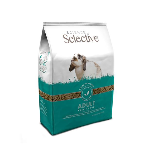 Science Selective Supreme Rabbit Food 4kg Pet: Small Pet Category: Small Animal Supplies  Size: 4.5kg...