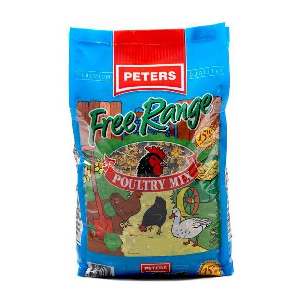 Peters Free Range Poultry Mix 5kg Pet: Bird Category: Bird Supplies  Size: 5kg  Rich Description:...