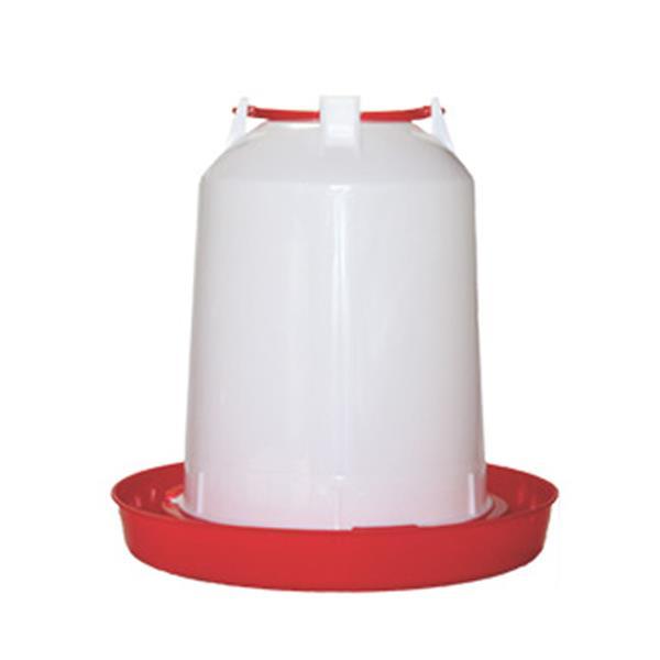 Avian Care Chicken Waterer Red White 14L Pet: Bird Category: Bird Supplies  Size: 0.7kg  Rich...