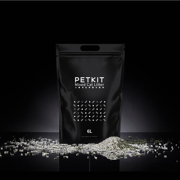 Petkit Cat Litter Mixed 6L Pet: Cat Category: Cat Supplies  Size: 2.7kg Material: Tofu  Rich...
