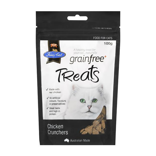 Fussy Cat Grain Free Cat Treats Chicken Crunchers 200g Pet: Cat Category: Cat Supplies  Size: 0.2kg...