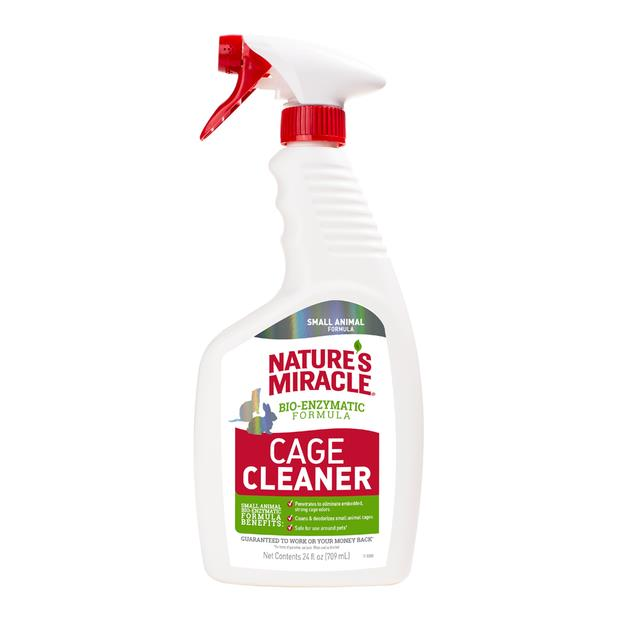 Natures Miracle Small Animal Cage Cleaner 709ml Pet: Small Pet Category: Small Animal Supplies  Size:...