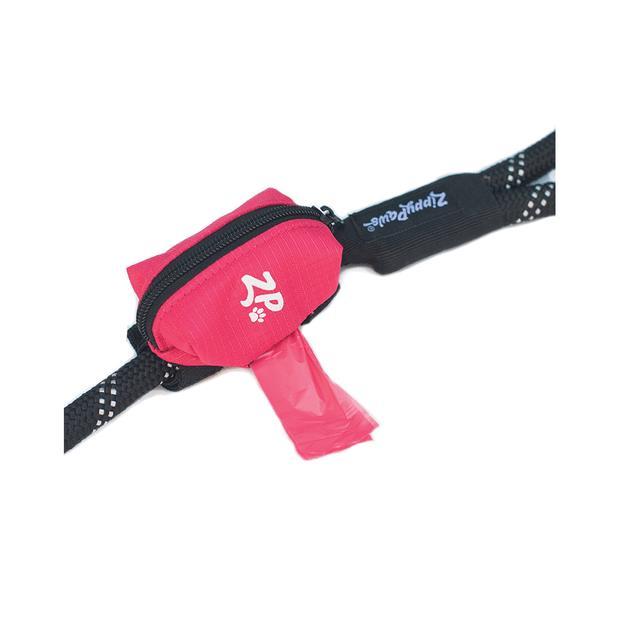 Zippypaws Adventure Leash Bag Waste Bag Dispenser Hibiscus Pink Each Pet: Dog Category: Dog Supplies ...