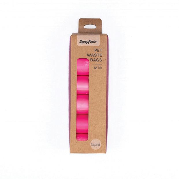 Zippypaws Pet Waste Bags Pink Each Pet: Dog Category: Dog Supplies  Size: 0.4kg  Rich Description:...