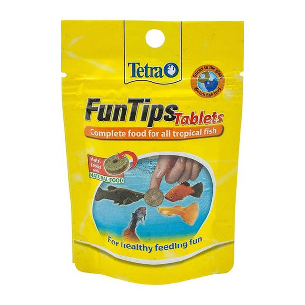 Tetra Funtips Tablet 8g Pet: Fish Category: Fish Supplies  Size: 0kg  Rich Description: Tetra are the...