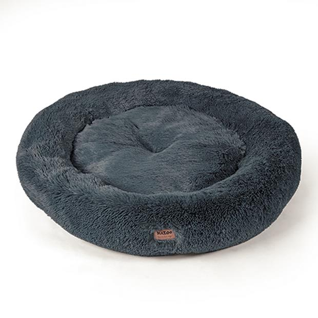 Kazoo Bed Peacock Storm Grey Medium Pet: Dog Category: Dog Supplies  Size: 1.5kg Colour: Grey  Rich...