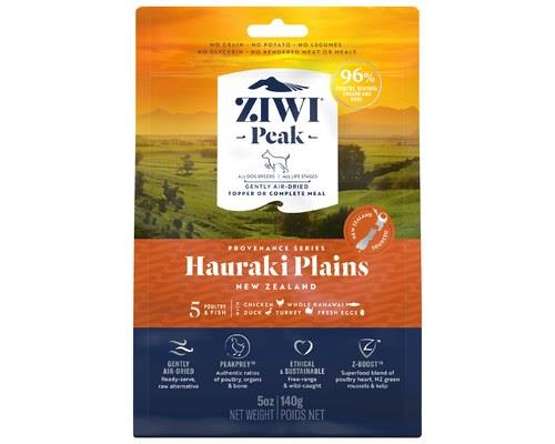 ZIWIPEAK PROVENANCE HAURAKI PLAINS DOG FOOD 140GInspired by the fertile farmland of the Hauraki Plains...