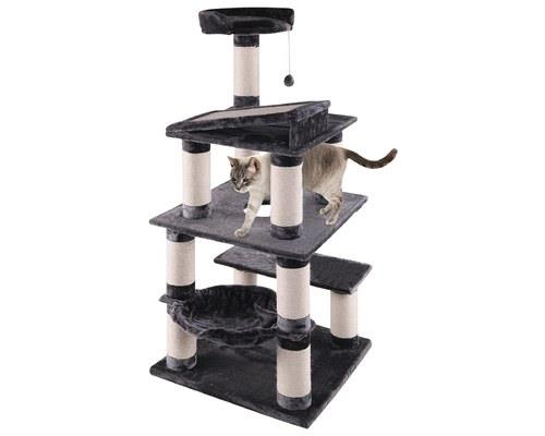 KAZOO 5 LEVEL CAT PLAYGROUND - GREYWhy buy your cat a simple bed when you can buy them a castle?... and...