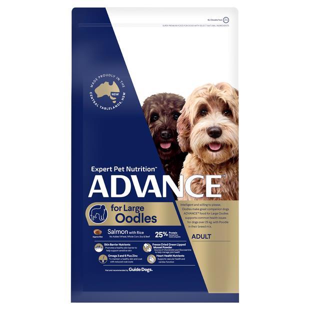 Advance Adult Large Oodles Dry Dog Food 13kg Pet: Dog Category: Dog Supplies  Size: 13kg  Rich...