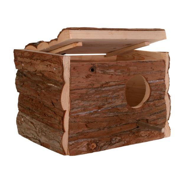 Trixie Nesting Box Natural Wood Each Pet: Bird Category: Bird Supplies  Size: 1.1kg  Rich Description:...