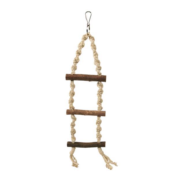 Trixie Natwood Rope Ladder 3 Rungs 40cm Pet: Bird Category: Bird Supplies  Size: 0.1kg  Rich...