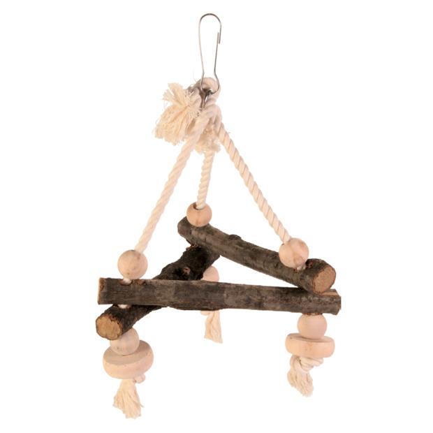 Trixie Natwood Bird Swing Triangle Each Pet: Bird Category: Bird Supplies  Size: 0.2kg  Rich...