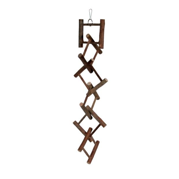 Trixie Natwood Hanging Ladder 12 Rung Each Pet: Bird Category: Bird Supplies  Size: 0.2kg  Rich...