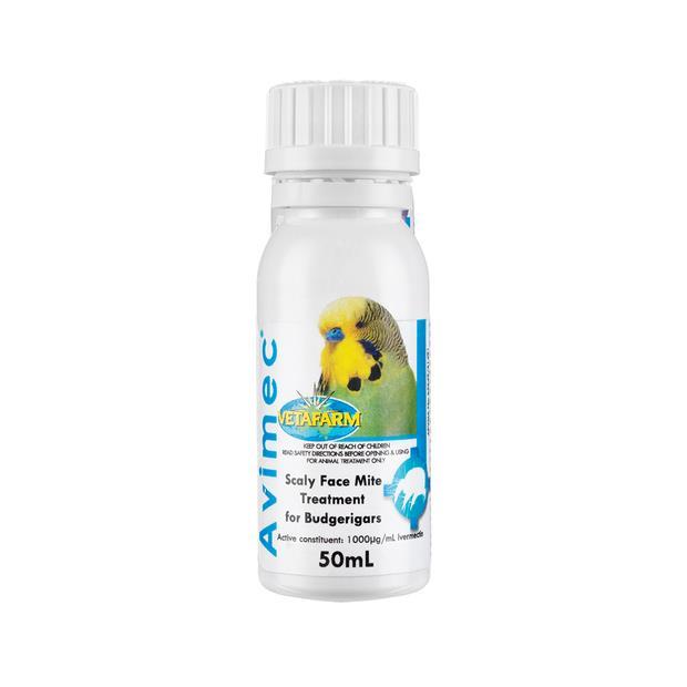 Vetafarm Avimec 50ml Pet: Bird Category: Bird Supplies  Size: 0.1kg  Rich Description: Suitable for...