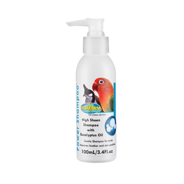 Vetafarm Bird Power Shampoo 100ml Pet: Bird Category: Bird Supplies  Size: 0.1kg  Rich Description:...
