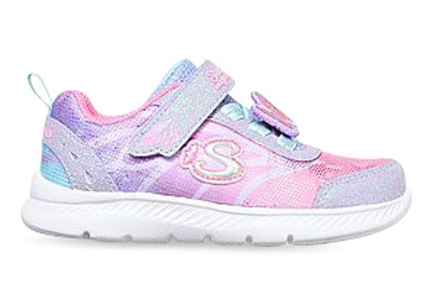 Make every day magical with the Skechers Comfy Flex 2.0. The Soft satiny fabric upper is comfortable...