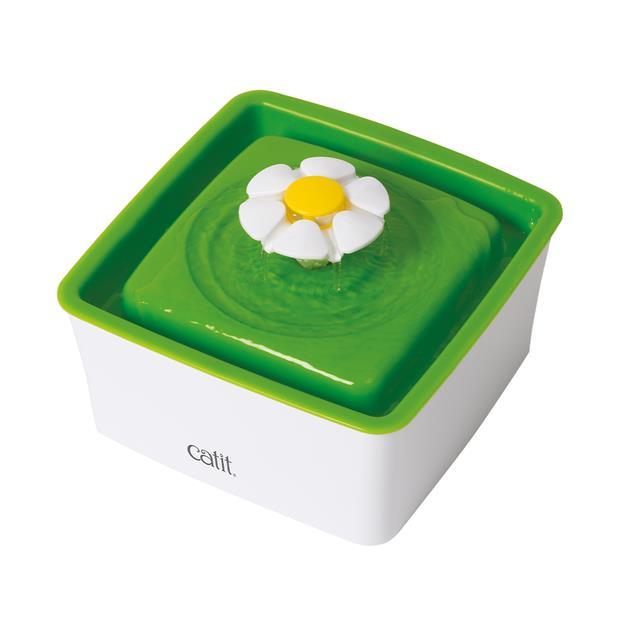 Catit Mini Flower Fountain Each Pet: Cat Category: Cat Supplies  Size: 0.5kg  Rich Description: Catit...