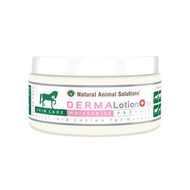 Natural Animal Solutions Derma Lotion 200gm Pet: Horse Size: 0.3kg  Rich Description: Operating since...