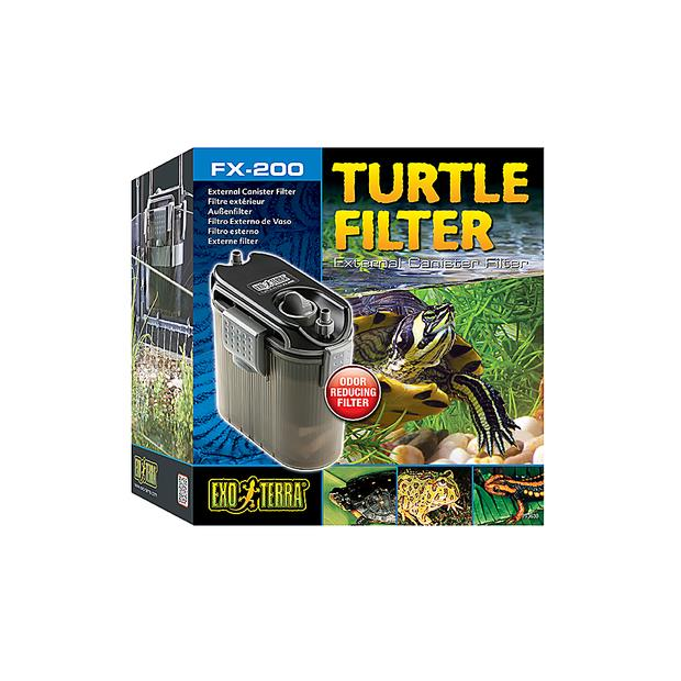 Exo Terra Turtle Fx 200 Canister Filter Each Pet: Reptile Category: Reptile & Amphibian Supplies  Size:...