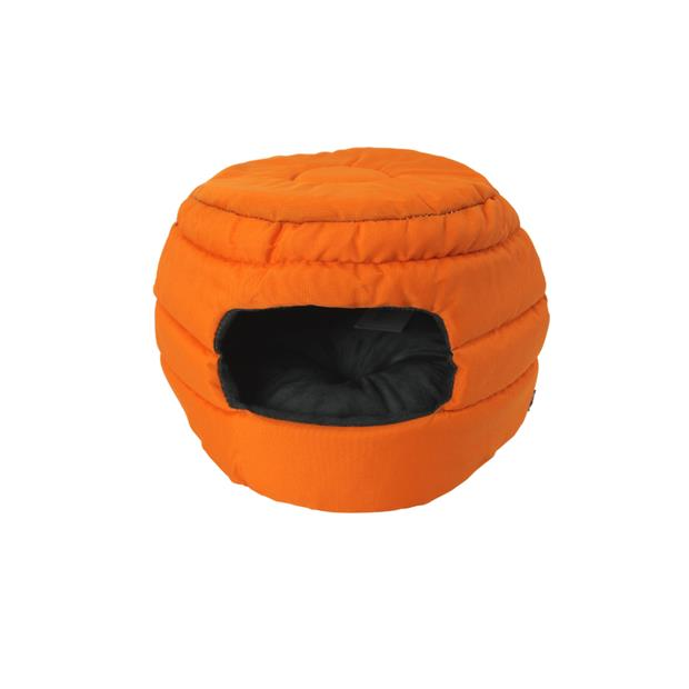 Ts Small Animal Beehive Fluro Orange Each Pet: Small Pet Category: Small Animal Supplies  Size: 0.3kg...