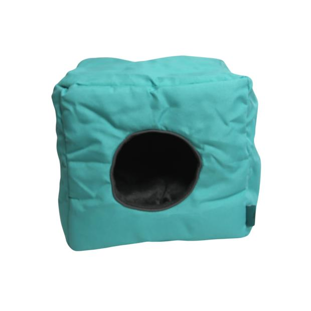 Ts Small Animal Cube Turquoise Each Pet: Small Pet Category: Small Animal Supplies  Size: 0.3kg Colour:...