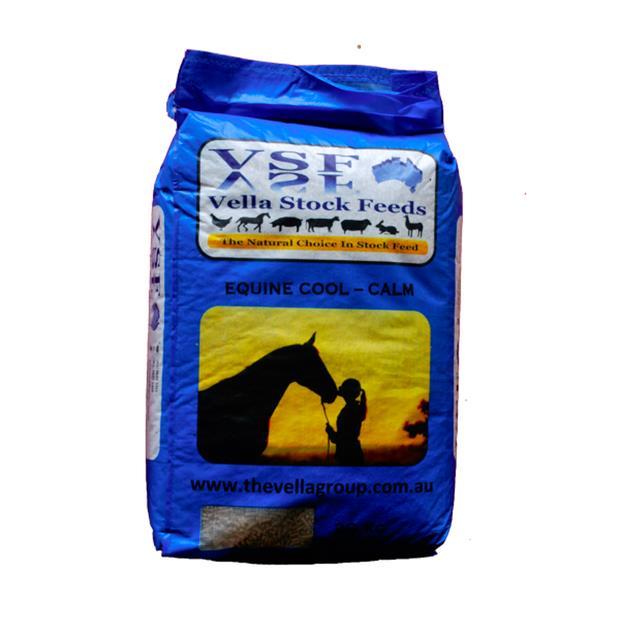 Vella Equine Cool Calm Pellet 20kg Pet: Horse Size: 20kg  Rich Description: Vella Stock Feeds is an...
