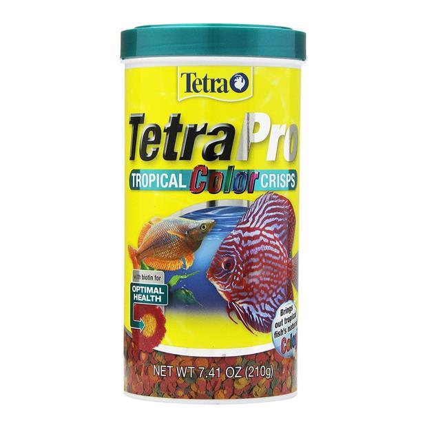 Tetra Pro Tropical Colour Crisps 75g Pet: Fish Category: Fish Supplies  Size: 0.1kg  Rich Description:...