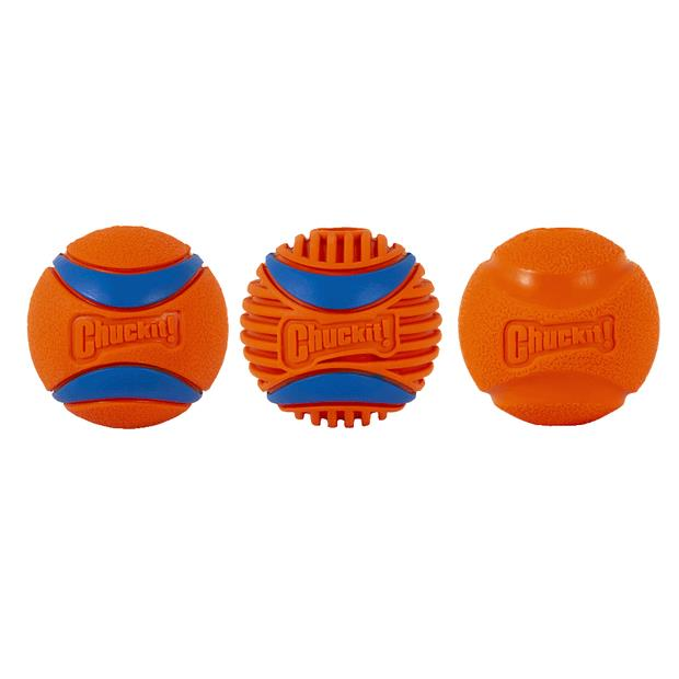 Chuckit Fetch Medley Gen 3 Dog Toy 3 Pack Pet: Dog Category: Dog Supplies  Size: 0.5kg  Rich...