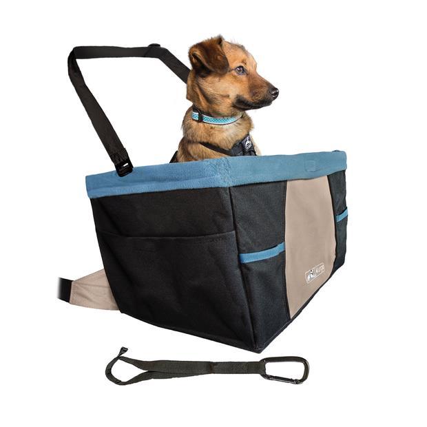 Kurgo Rover Booster Seat Black Hampton Sand Each Pet: Dog Category: Dog Supplies  Size: 1.7kg  Rich...