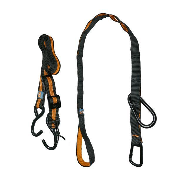 Kurgo Auto Zip Line Car Lead Black Orange Each Pet: Dog Category: Dog Supplies  Size: 0.7kg  Rich...