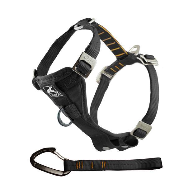 Kurgo Enhanced Strength Tru Fit Smart Harness Black Xlarge Pet: Dog Category: Dog Supplies  Size: 0.5kg...