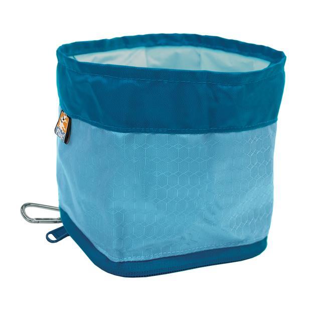 Kurgo Zippy Bowl Coastal Blue Each Pet: Dog Category: Dog Supplies  Size: 0kg  Rich Description: The...