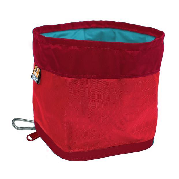 Kurgo Zippy Bowl Barn Red Each Pet: Dog Category: Dog Supplies  Size: 0kg  Rich Description: The team...