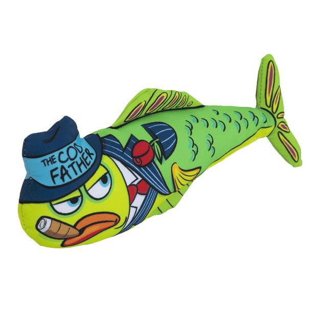 Fat Cat Catch Of The Day The Cod Father Cat Toy Each Pet: Cat Category: Cat Supplies  Size: 0.6kg  Rich...