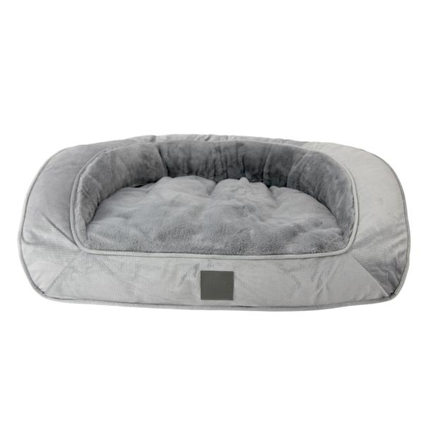 Ts Dog Bed Portsea Plush Grey Small Pet: Dog Category: Dog Supplies  Size: 3kg Colour: Grey Material:...